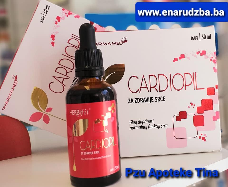 Cardiopil kapi 50 ml- za zdravije srce | eNarudžba